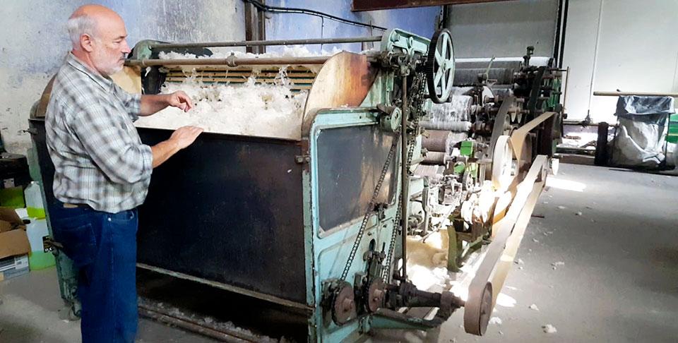 usine lainière traditionnelle