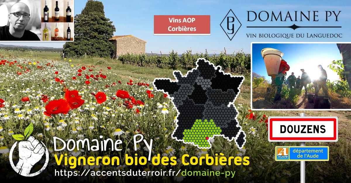 vigneron bio des Corbières