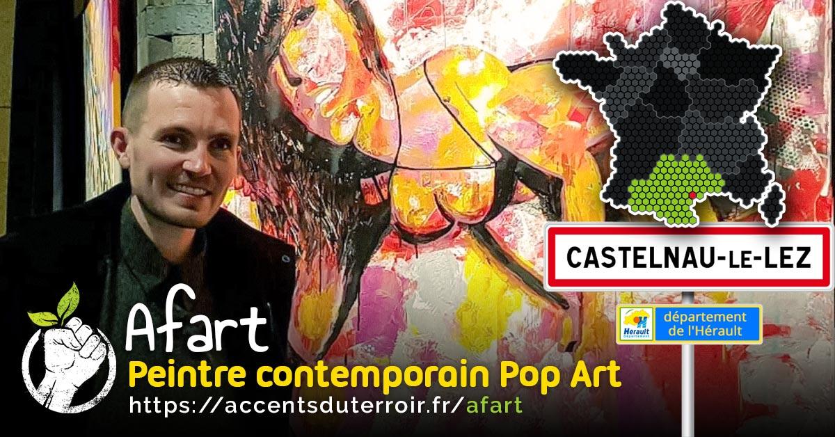 artiste contemporain