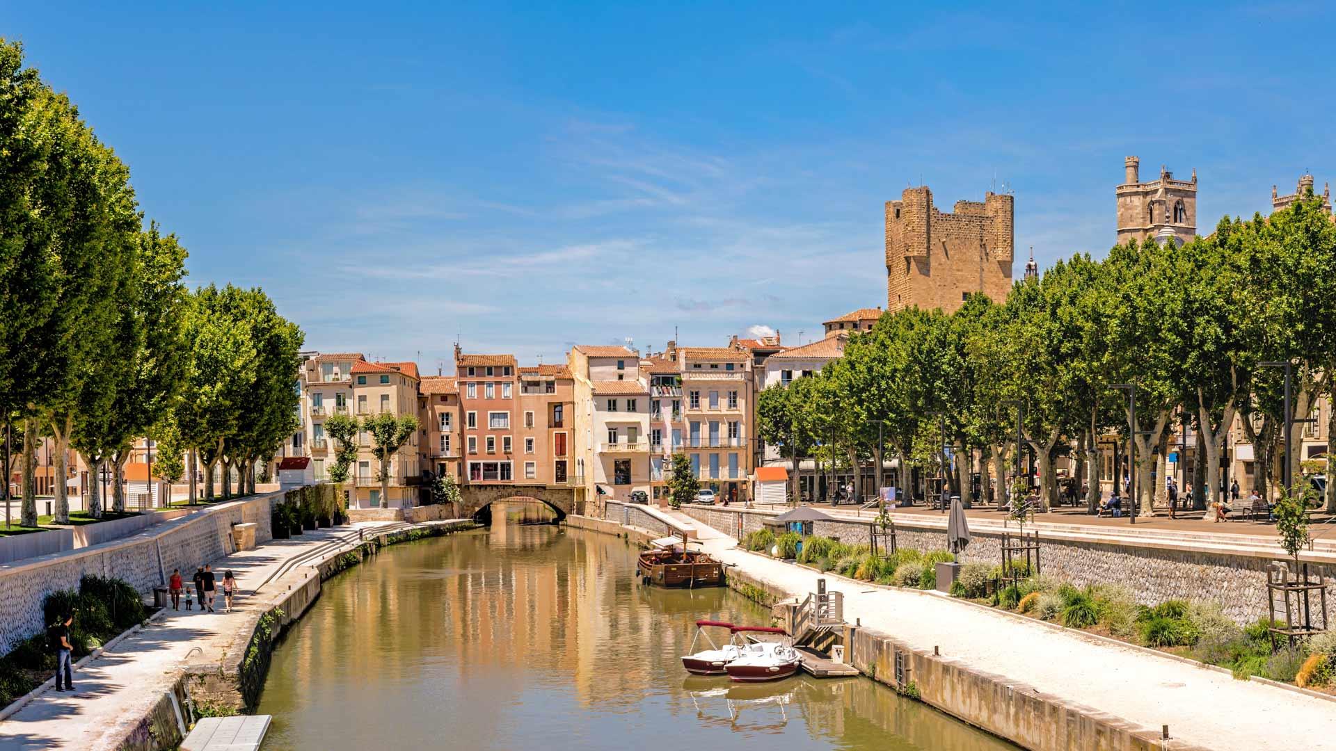 Promenade des Barques à Narbonne