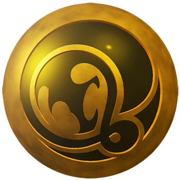 logo abstrackt particule