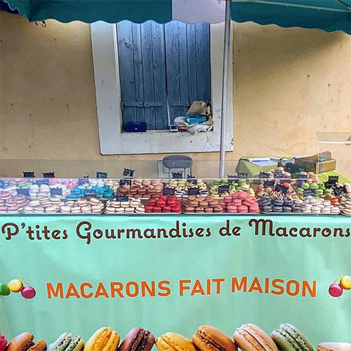 nos ptites gourmandises macarons du 11 l