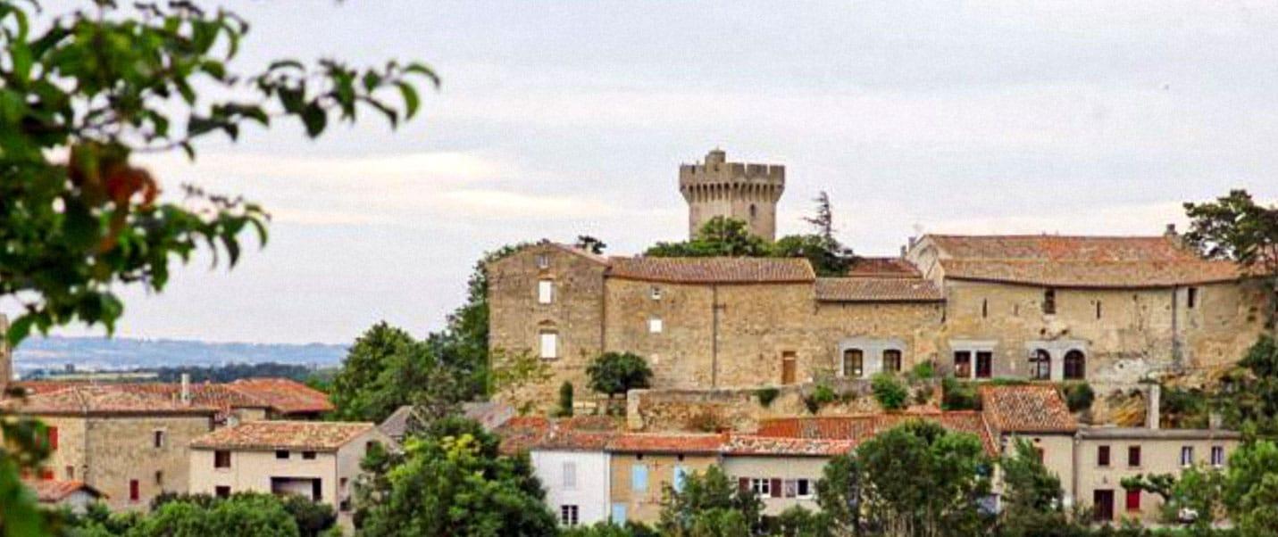 château médiéval de l'Aude
