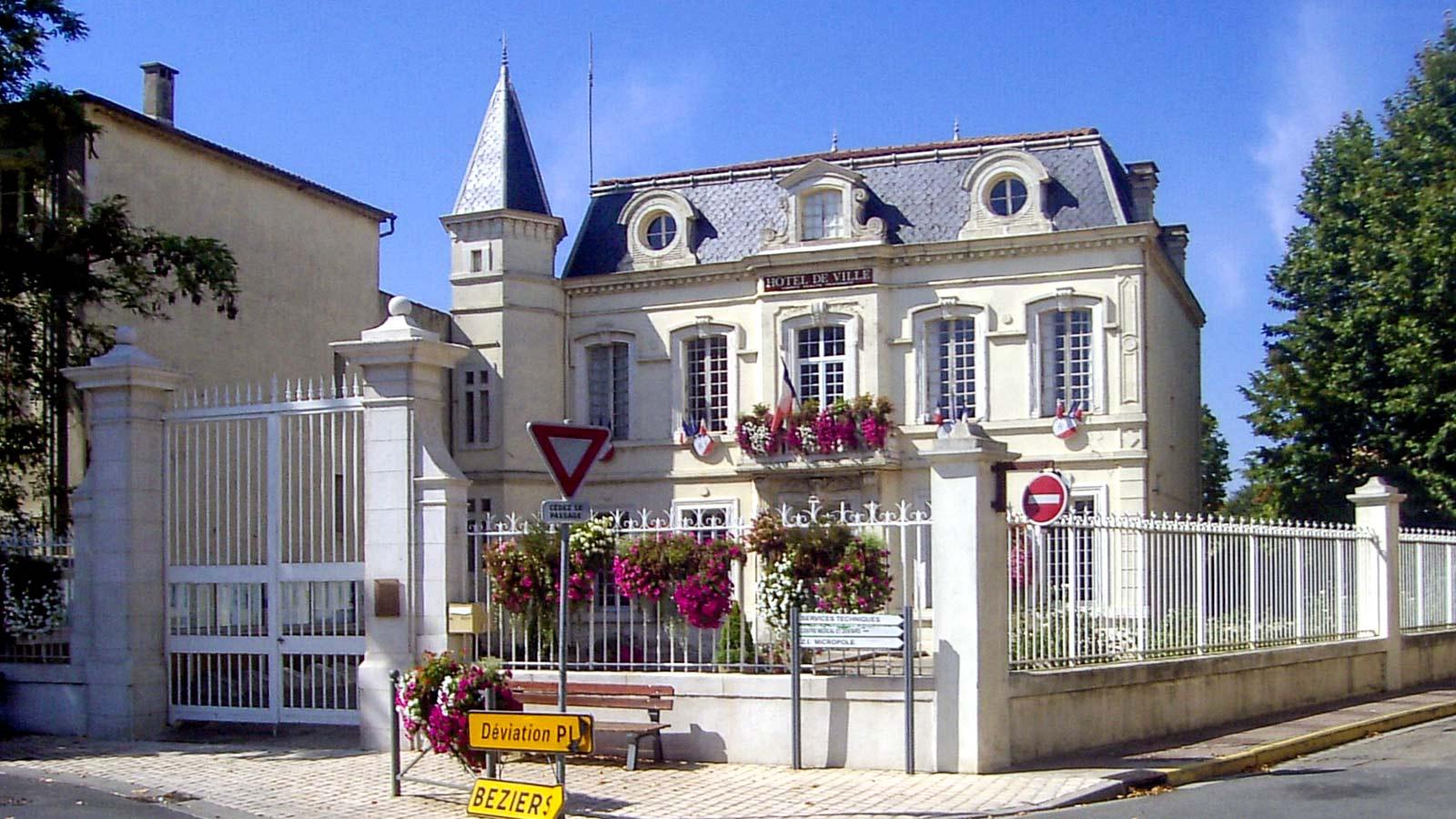 hôtel de ville de Cuxac d'Aude