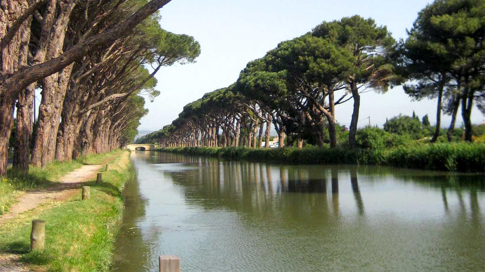 canal à Sallèles d'Aude