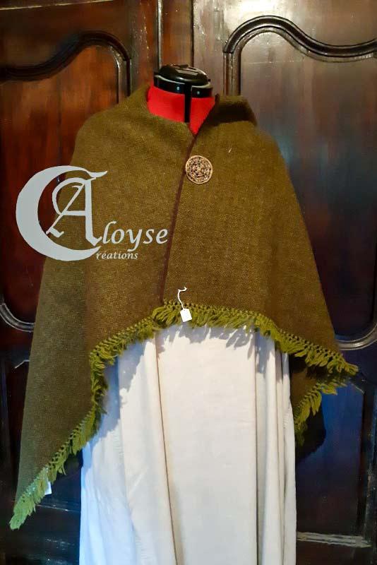 châle artisanal en laine